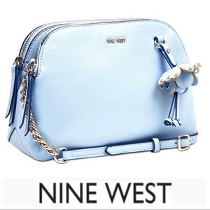 NEW NINE WEST Flower detail Marea CROSSBODY Bag